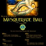 Black & Gold Masquerade Ball